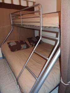 Alcôve, coin nuit idéal, avec ensemble de 2 lits, un en 140 et un en 90