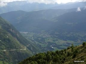 Vue du balcon sur la Vallée d'Aure