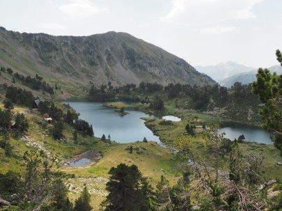 Les lacs de Bastan accessibles par le Pla d-Adet et le col du Portet