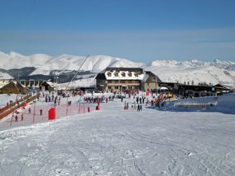 Plateau du Pla d'Adet Saint-Lary, nouvel espace débutant