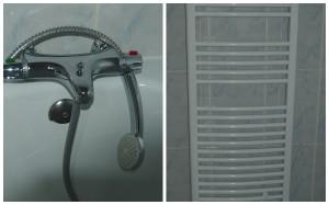 robinet+sèche-serviette